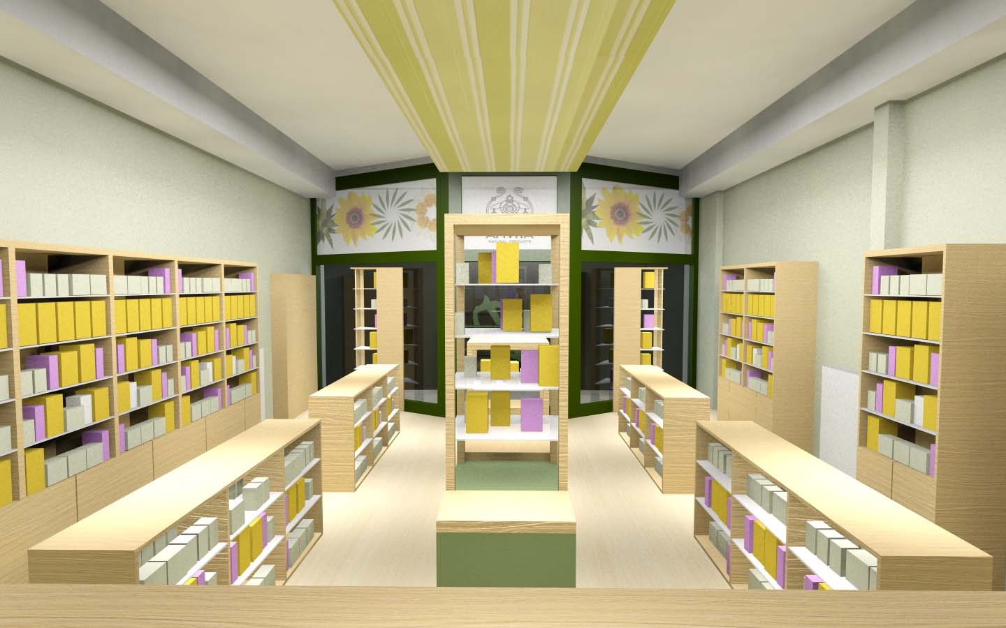 Pharmacy Design Ideas the first sartoretto verna pharmacy in malta is full of light and colour Pharmacy Design